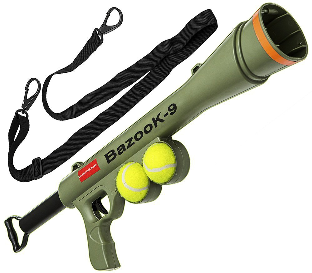 Dog-Tennis-Ball-BazookaToy-Launcher-for-Pet-Training-Throw-Fetch-Play-Outdoor-product-image