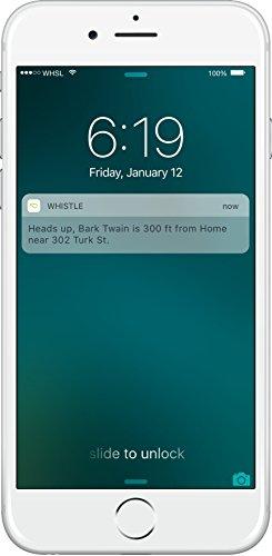 Whistle 3 GPS Pet Tracker & Activity Monitor app monitoring