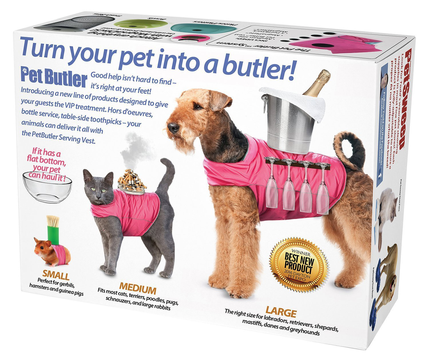 Prank-Pack-Pet-Butler—Standard-Size-Prank-Gift-Box–Turn-your-pet-into-a-butler
