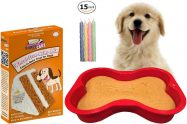 Wheat-Free Peanut Butter Dog Birthday Cake Kit