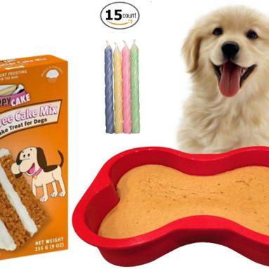 Wheat-Free Peanut Butter Dog Birthday Cake Kit